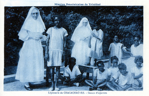 Dominican Sisters with leper children