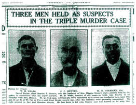 Suspects of the Gribble Triple Murder